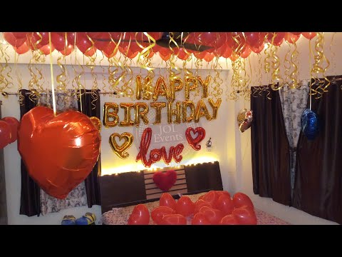 surprise-romantic-room-decoration-for-birthday,-anniversary