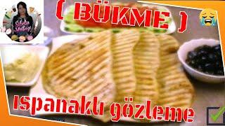 Tosta  Ispanaklı  Bükme  Tarifi  Nasıl yapılır ?  Sibelin Mutfağı ile yemek tarifleri  ( pizza )