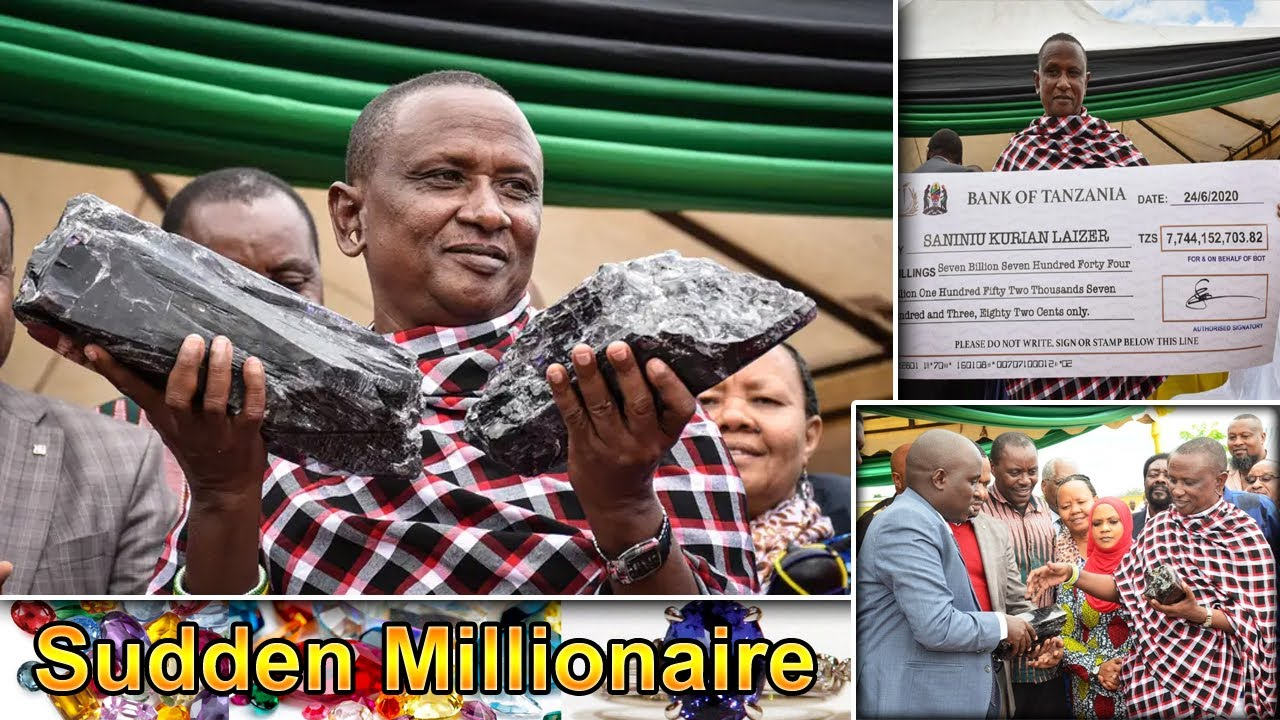 Gemstone took the stones Suddenly became a millionaire