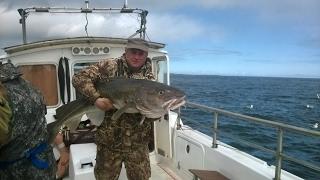 Рибалка в Мурманську - Тріска 22 Кг