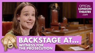 Behind the scenes at Witness For The Prosecution