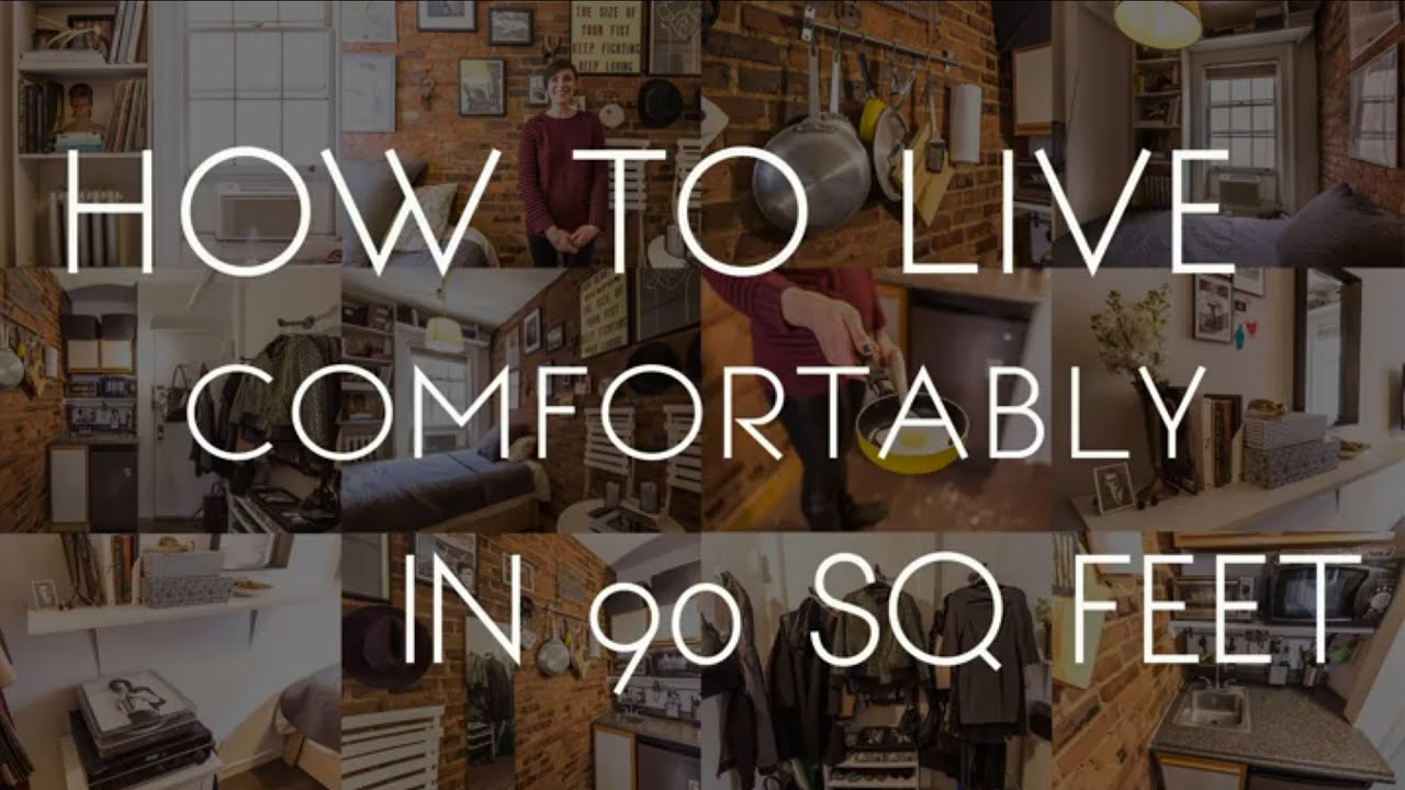 Live Comfortably in 90 Square Feet - YouTube on 90 Room  id=80837