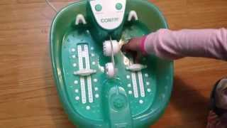 Conair Deluxe Foot SPA - Customer Review - Demonstration