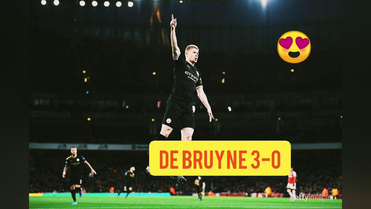 Manchester City vs Arsenal 3-0 - YouTube