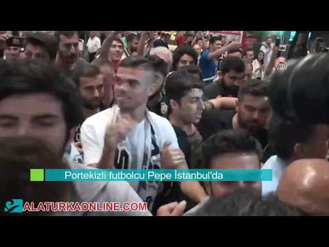 Portekizli Pepe Beşiktaş'ta - Besiktas signs former Real Madrid defender Pepe