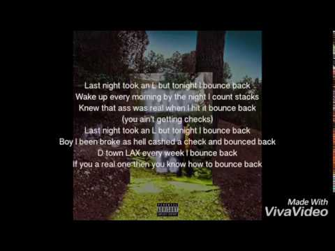 Big Sean Bounce back lyrics
