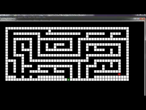 Python maze solving program using the Left Hand Rule algorithm