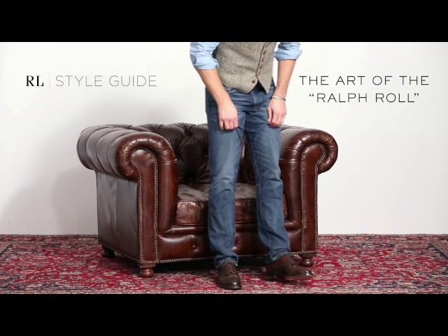 "RALPH LAUREN | RL Style Guide: The Art of the ""Ralph Roll"""