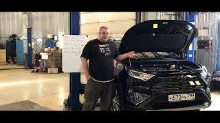 Toyota RAV4 (2019) - Стоимость основных частей и расходников.
