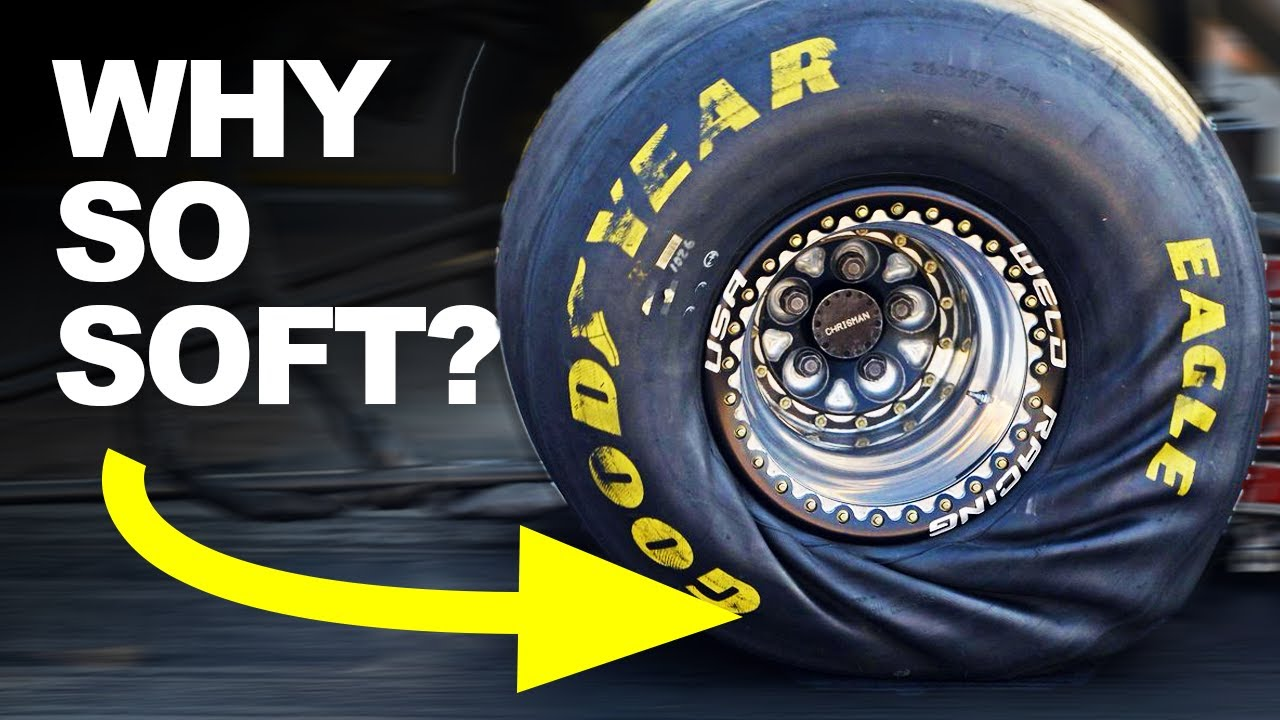 How Dragster Tyres Accelerate to 335 MPH in 3.6 Seconds