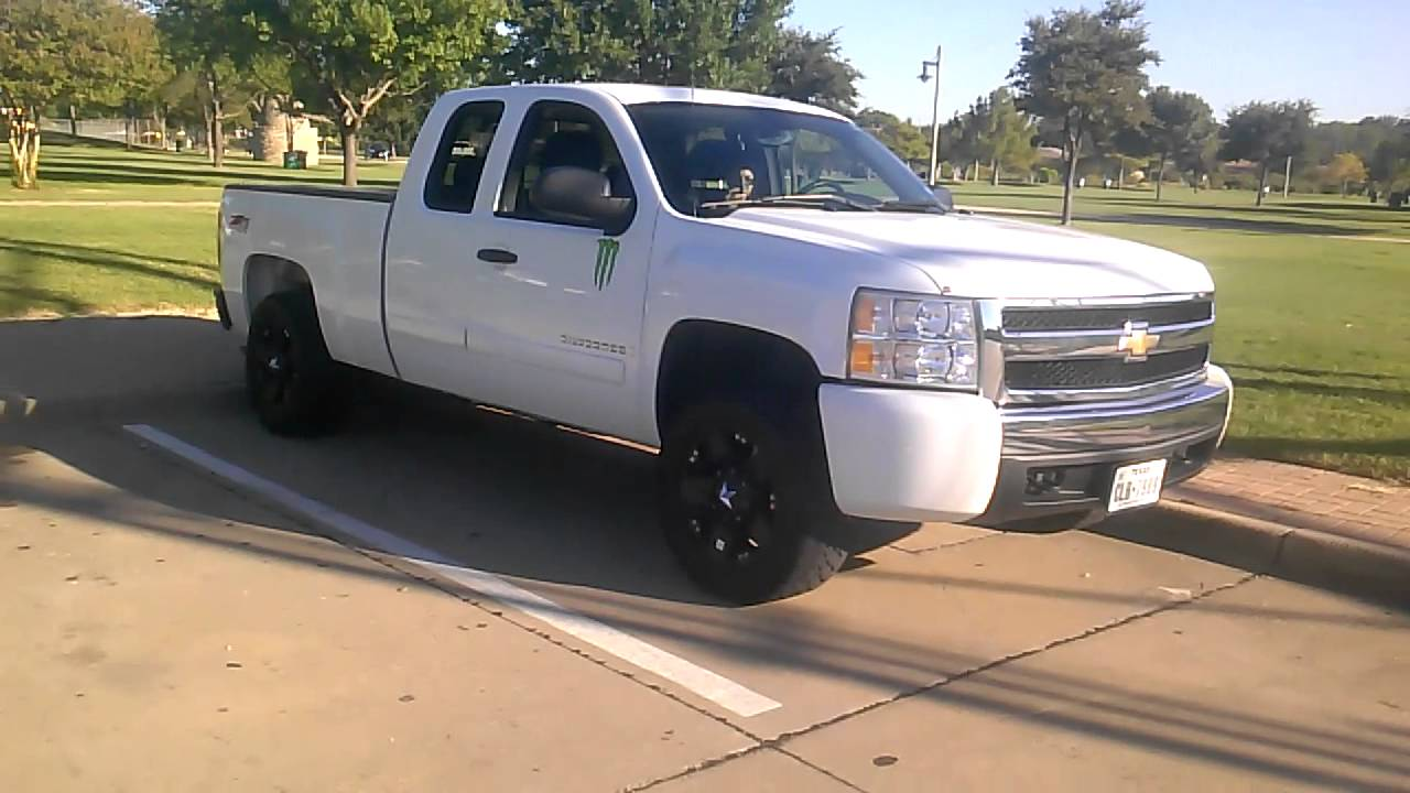 Silverado 2011 chevy silverado wheels : Chevy Silverado 1500 Exhaust Demonstration , XD Rims, Flame Tires ...