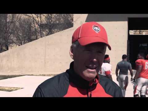 Spring Football 2014: Day 4 - Coach Davie