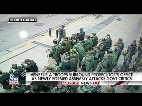 Venezuela Security Troops Seize Chief Prosecutor's Office