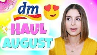 DM HAUL AUGUST 2018 😍 | REALER EINKAUF FÜR DIE WOHNUNG, NEUHEITEN, MÄDCHEN PRODUKTE & MEHR! ♡