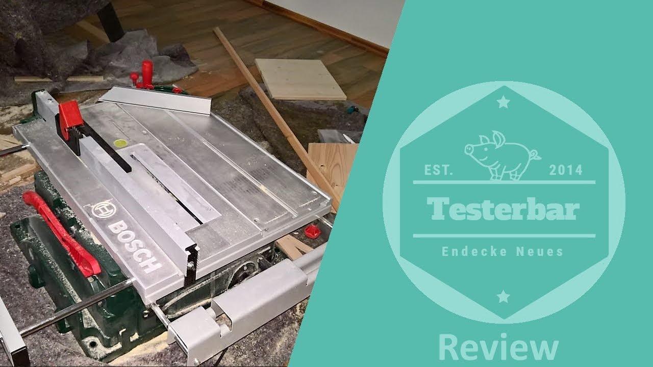 meine erfahrung mit der bosch pts 10 tischkreiss ge youtube. Black Bedroom Furniture Sets. Home Design Ideas