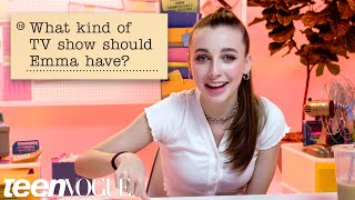 Emma Chamberlain Guesses How 2,117 Fans Responded to a Survey About Her | Teen Vogue