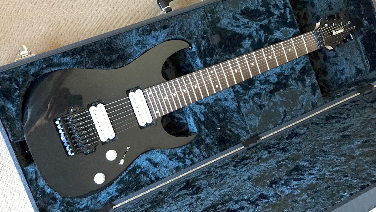 2012 Ibanez RG2228 Prestige. Modded with DiMarzio PAF8\'s - YouTube