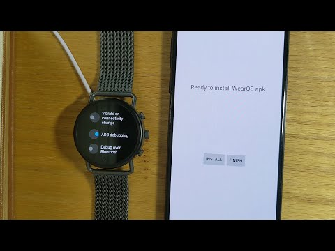 Wear Installer: makes it easy to sideload apps on your WearOS device