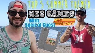 Top 5 Nes Games, Summer themed with NES Addict