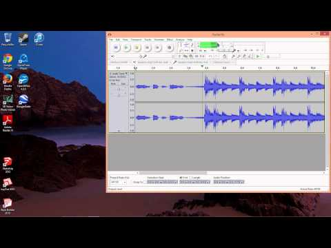 Record Streaming Internet Audio Using Audacity for Windows 8