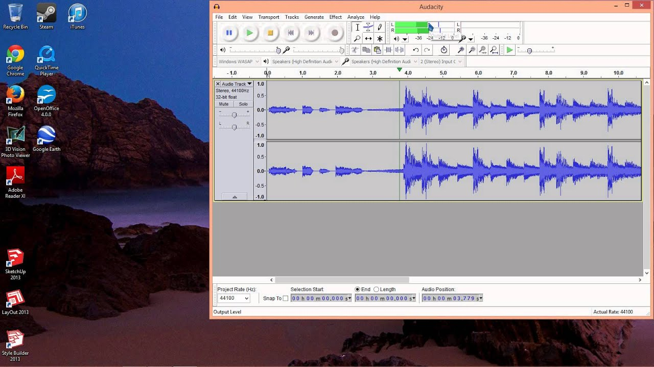 Record Streaming Internet Audio Using Audacity For Windows 8 Youtube High Definition Video Of Earth To Be Streamed Online