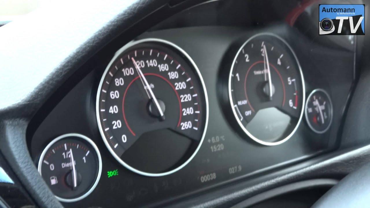 BMW F30 320d First Autobahn Test 1080p FULL HD