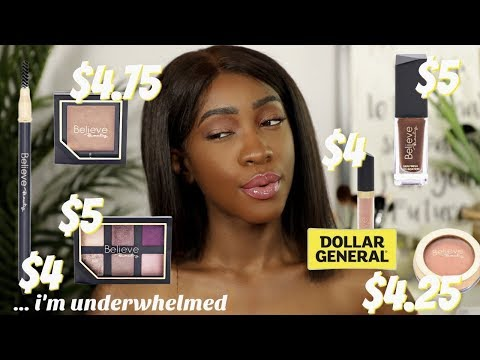 Dollar General Has A Makeup Line And Nothing Is Over $5? | Believe Beauty