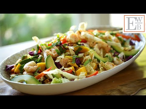 Beth's Shrimp Salad with Avocado and Mango