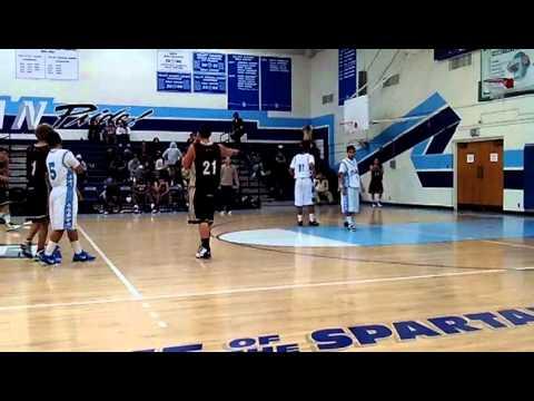 Sylmar High School JV basketball vs Kennedy 1-3-11 avi