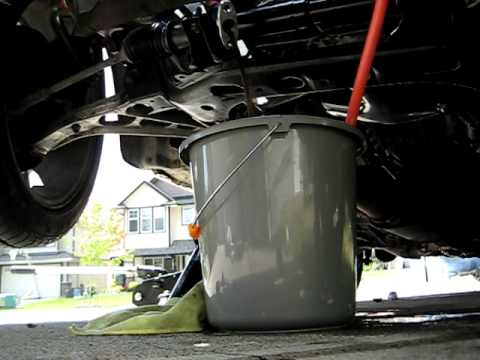 Turbo Oil Return Line Flowing Youtube