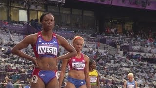 Women's 400m Heats - Full Heats - London 2012 Olympics
