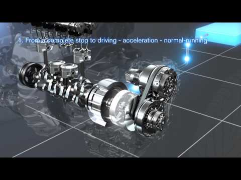 Фото к видео: New Hybrid System (for front-wheel drive vehicles)
