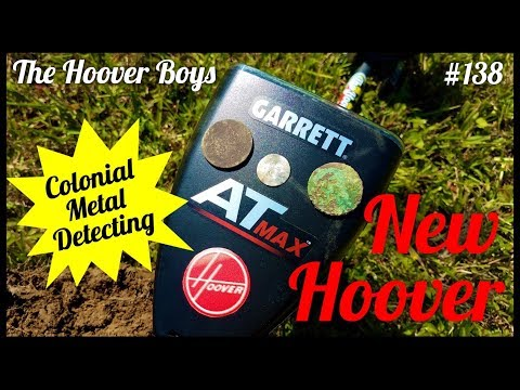 AT Max Metal Detecting 1700's Colonial Coins & Relics | New Hoover