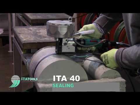 Видео работы упаковочного инструмента ITA 40