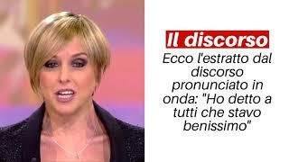 """Nadia Toffa: """"Ho avuto un cancro"""" il discorso in diretta a Le Iene - Notizie.it"""