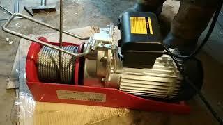 видео Таль электрическая (тельфер) г/п 10,0 т Н=30 м