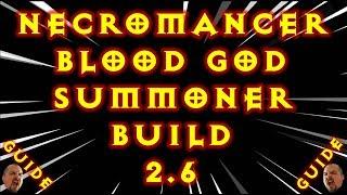 Video Diablo 3 Tragouls Blood God Necromancer Summoner Solo GR Build 2.6 download MP3, 3GP, MP4, WEBM, AVI, FLV September 2017
