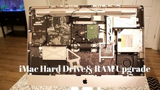 iMac Hard Drive Replacement and 16gbs of RAM Upgrade (Late 2009) iMac