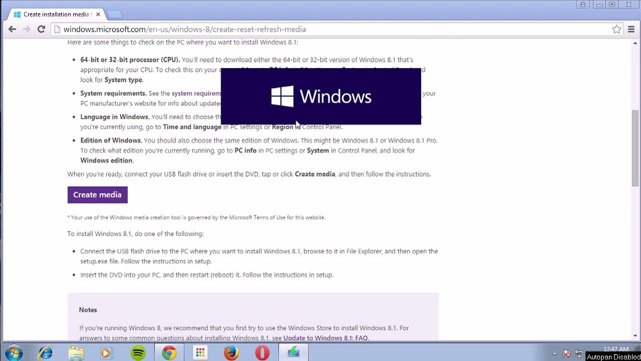 Windows 8.1 Оригинал скачать