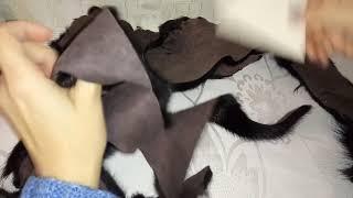 137.Как сшить мех.шапку,если мало меха!?