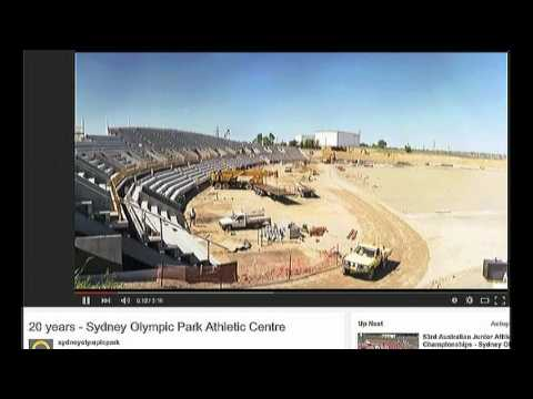 HISTORY OF Sydney OLYMPIC PARK STADIUM