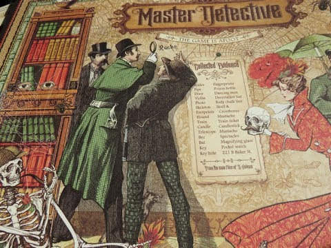 Graphic 45 Master Detective Close Up + French Country