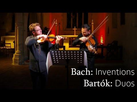 Bach: Inventions. Bartok: Duos. (Alexander Sitkovetsky, Maxim Rysanov)