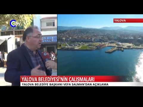 Yalova BelediyeBaşkanı Vefa Salman Çalışmalarını Anlattı