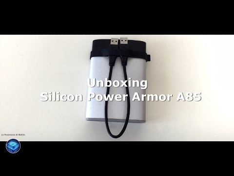 Silicon Power Armor A85 - Unboxing