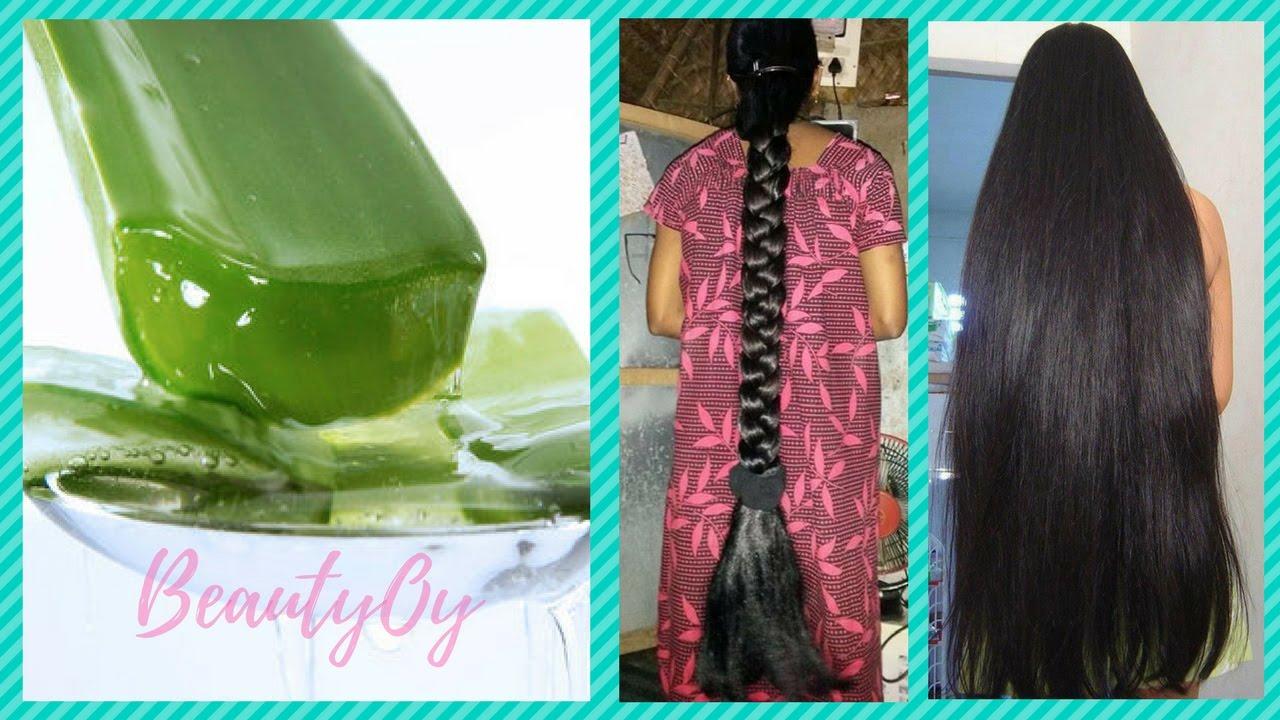 How To Use Aloe Vera For Hair Growth Youtube