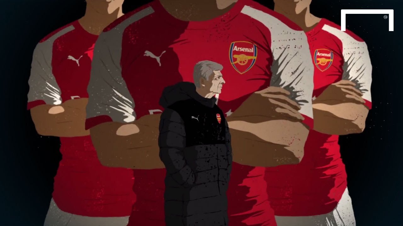 Arsenal FC - A cartoon history