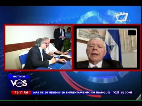 """Francisco Aguirre Sacasa: OEA """"tiene que ganarse la confianza de Nicaragua"""""""