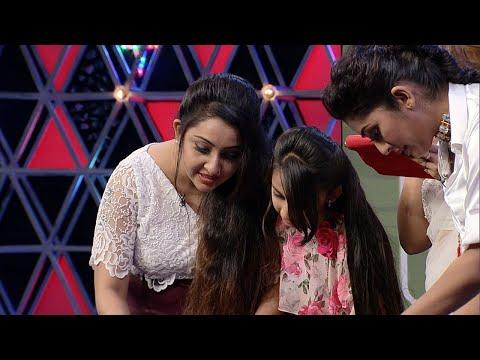 #OnnumOnnummoonnuseason3 l Funny & Intelligent task  for Nithya & Navya l Mazhavil Manorama