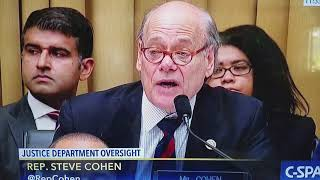 Rep Steve Cohen (TN) Questions Attorney General Jeff Sessions on Marijuana #OnePlant Free HD Video